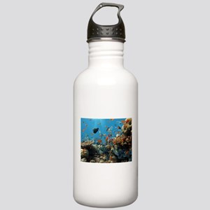 Fishes and Underwater Plants Water Bottle